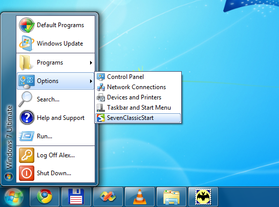 Classic Start Menu for Windows 7 / Windows Server 2008 R2